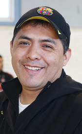 Emilio Alcaide, Director of the PhillyMex-Fut soccer league.