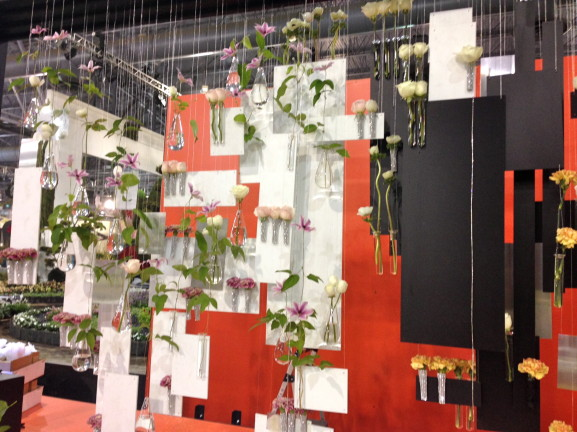"Set design for Robertson's Flowers' ""Dancing the Dream."""