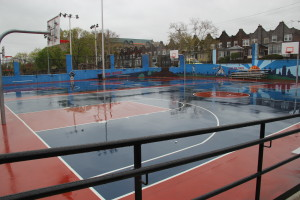 Tustin Recreation Center Basketball Court