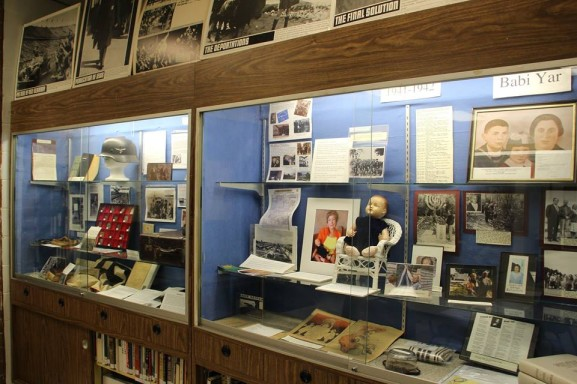 The Holocaust Awareness Museum and Education Center, located inside Klein JCC, houses artifacts from the Jewish Genocide before and during World War II in Europe