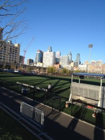 """University of Penn's field can be seen in """"Philly."""""""