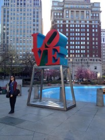 """Love Park serves as the backdrop of """"Starlight,"""""""
