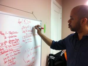 R. Eric Thomas began teaching courses four years ago.