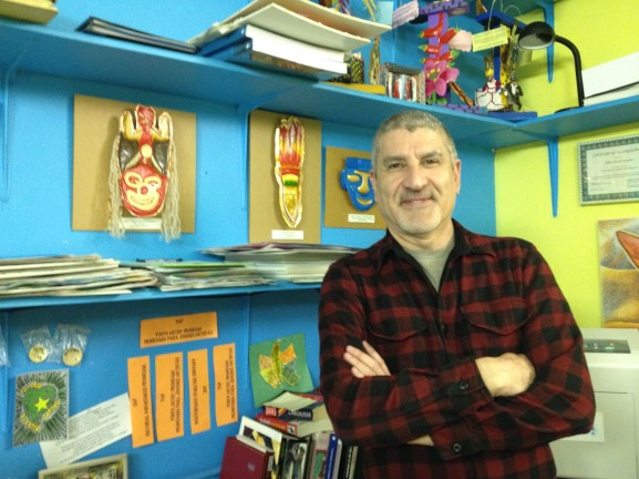 Carlos Pascual has been a mentor within Taller's Education  Program as its Youth Artist Program Instructor.