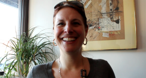 Kristie Bergey, a Fairmount resident and owner of The KB Experience.