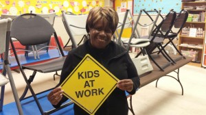 Cynthia Brown, the playground's after school activities director.