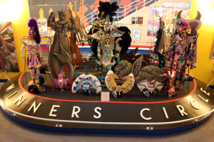 Winner's Circle at the Mummer's Museum