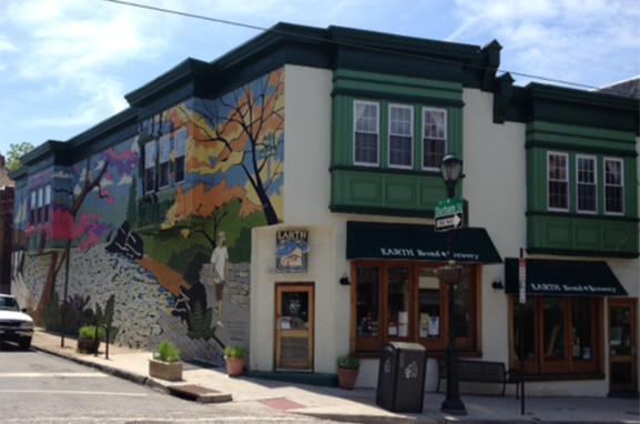 """The Earth (Bread and Brewery) restaurant is known for its """"green"""" approach."""