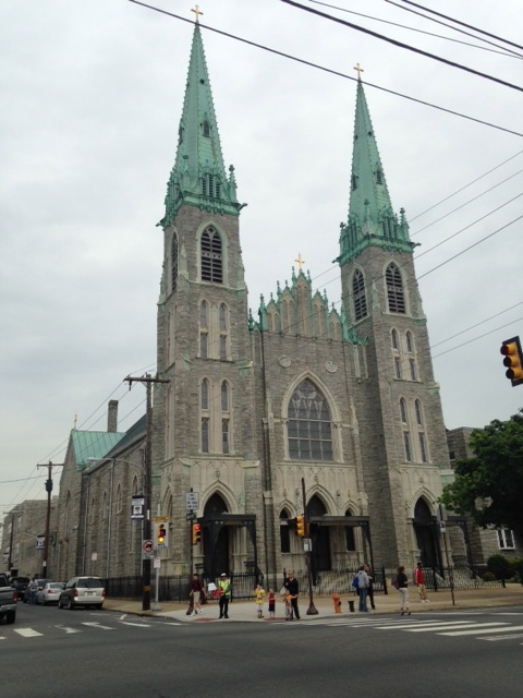St. Adalbert's Church, established in 1905, is one of the oldest Roman Catholic parishes in Philadelphia.
