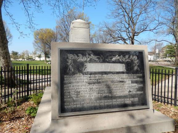 Penn Treaty Obelisk