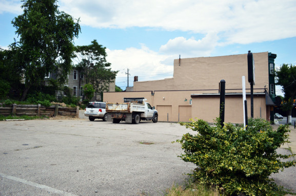 The empty lot and former O'Reilly's Pub will be home to the Kensington Community Food Co-op.