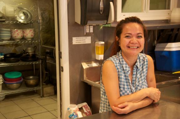 Nhan is the owner of Cafe Nhan