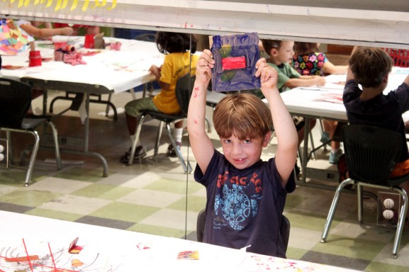 The Philly Art Center offers creative freedom for children.