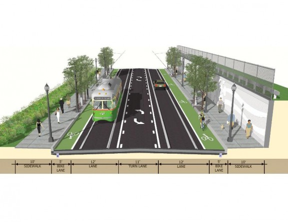 PennDot's project graphics show what's to come after the construction.