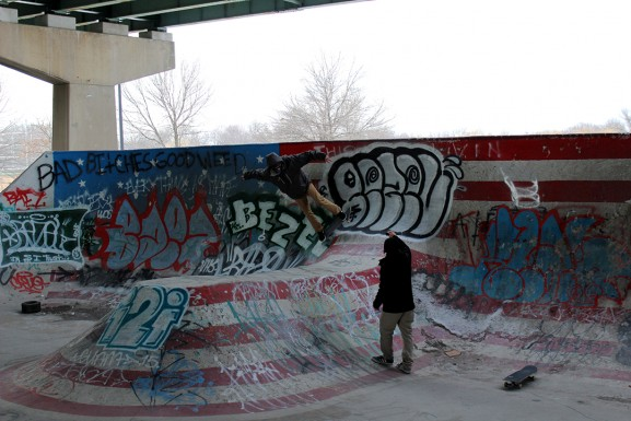 Skaters at FDR Park