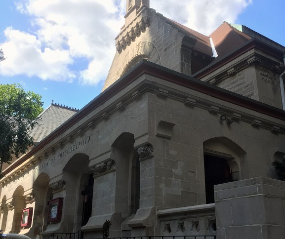 The First Unitarian Church of Philadelphia also plays hosts to rowdy punk rock shows on Friday and Saturday nights.