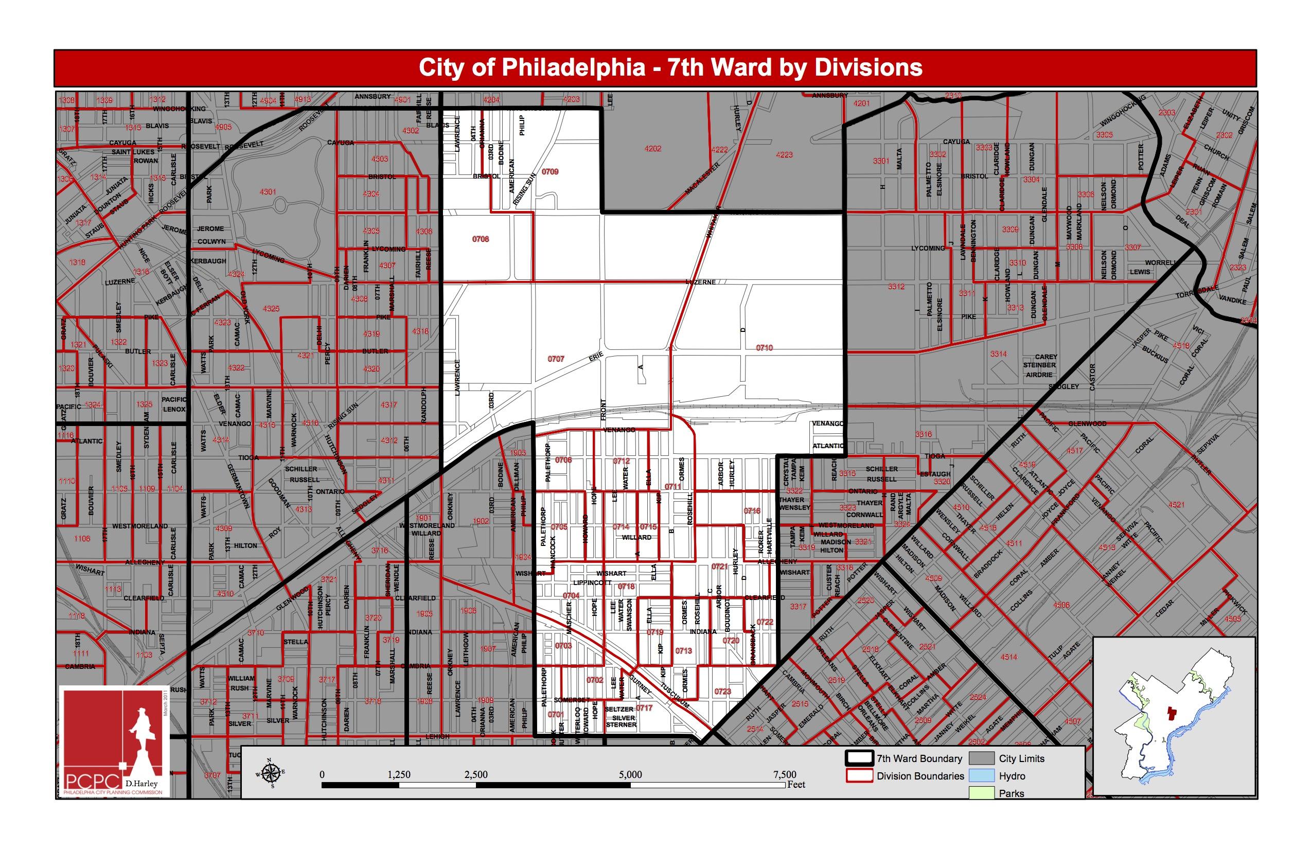 7th Ward of Philadelphia (Courtesy of www.seventy.org)