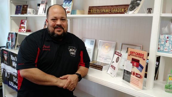 Jose Morales, owner of Philly Firearms Academy