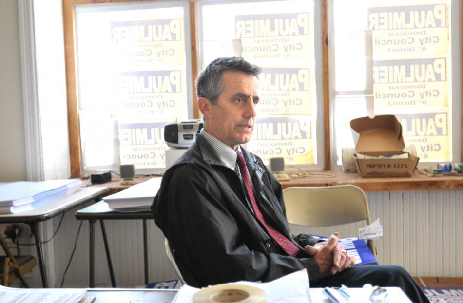 Greg Paulmier, 8th District City Council candidate