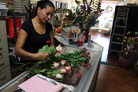 Mildred Izaguirre / Fifth Street Florists