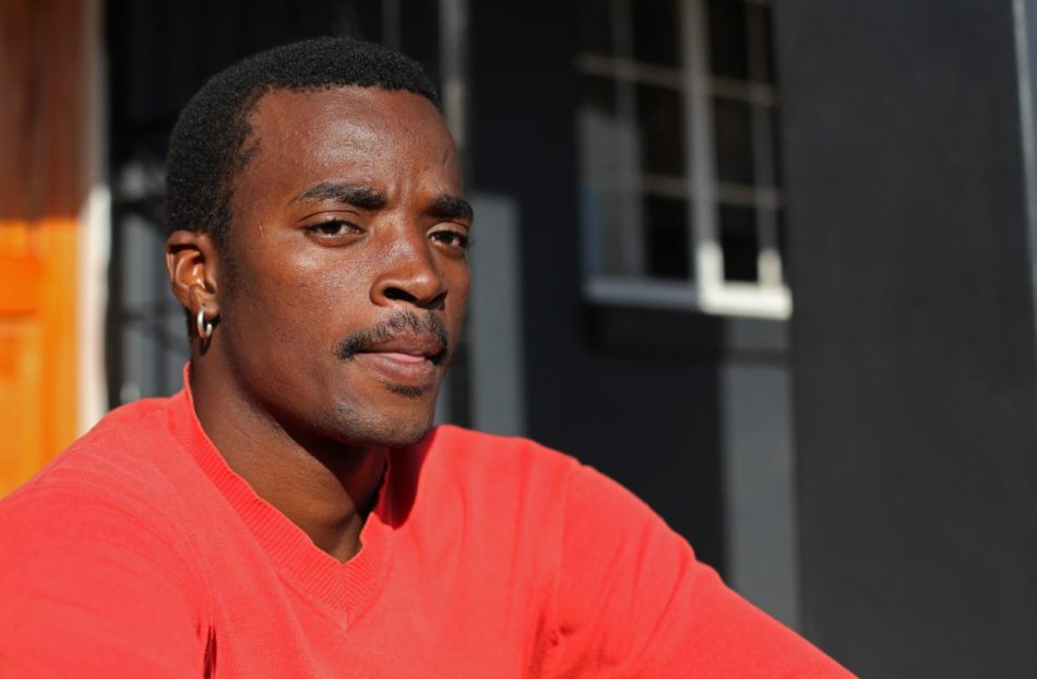 Collen Tshazi has lived most of his life in Kliptown where he now works with KYP to educate the young Kliptown residents.