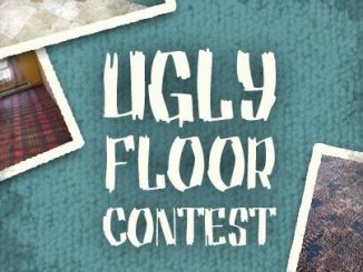 ugly floor, carpet shop
