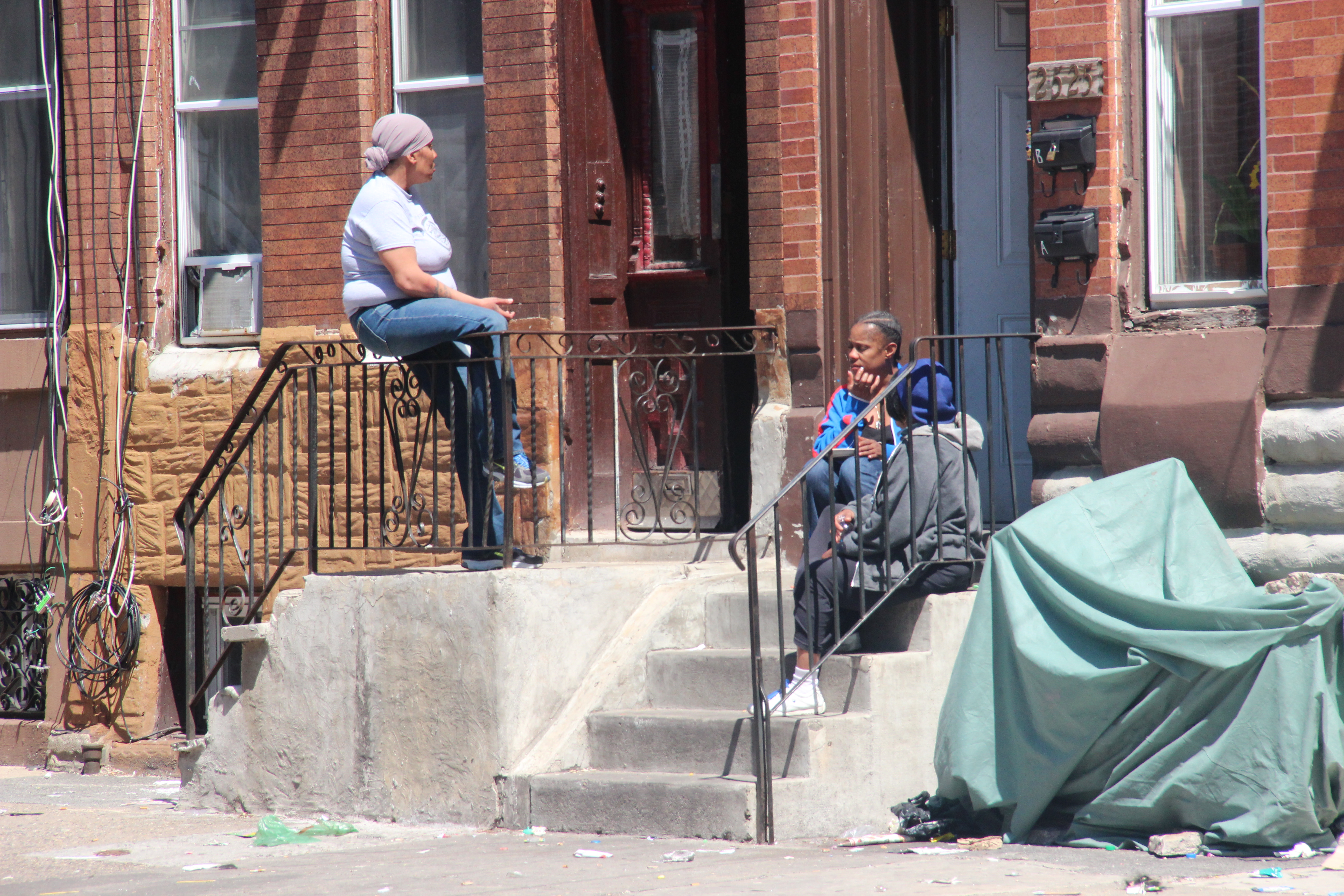 On the Stoop