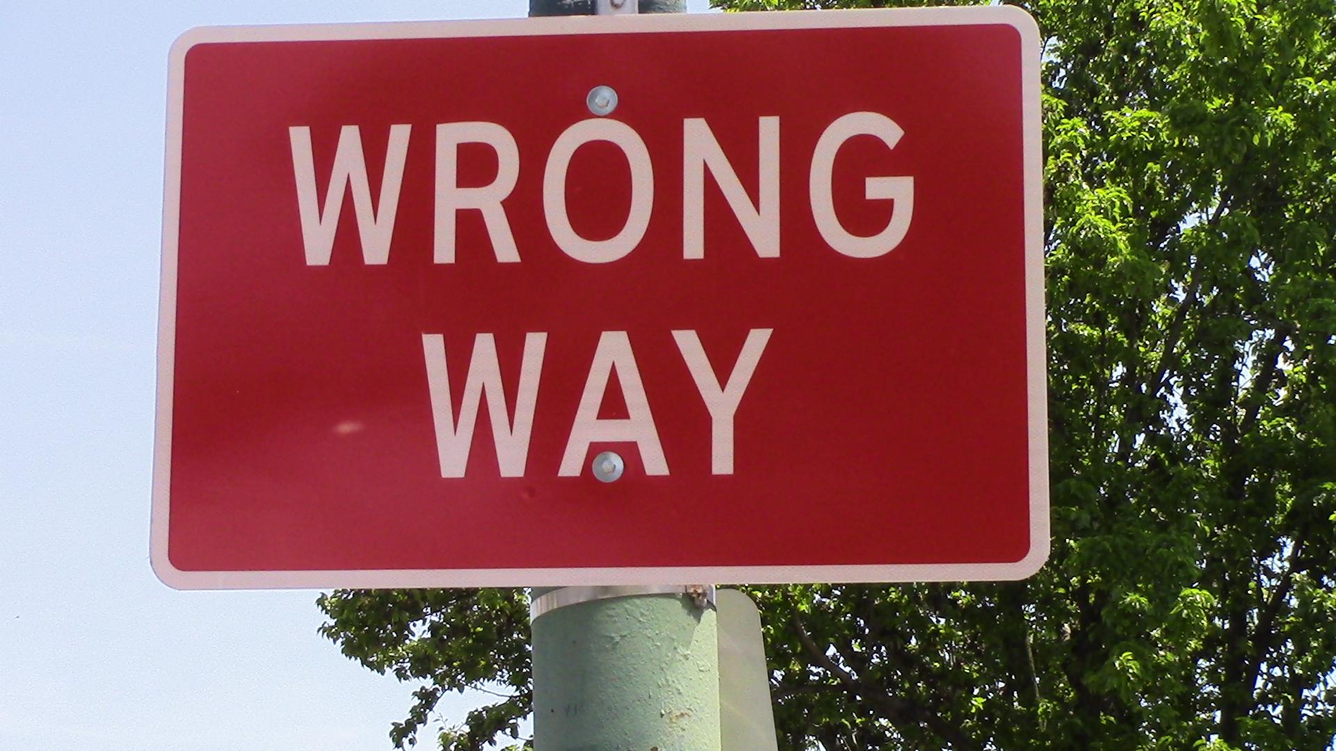 PN - Ryan, wrong way