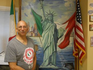 Mike Bonasera, History of Italian Immigration Museum curator