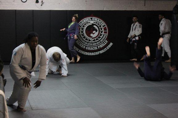 16 Jiu jitsu class