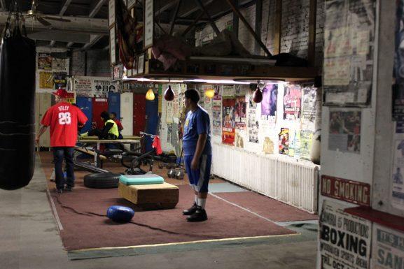 13 boxing gym